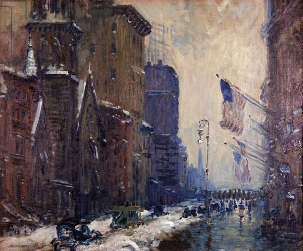 New York Arthur Clifton Goodwin (1886-1924 American) David David Gallery, Philadelphia