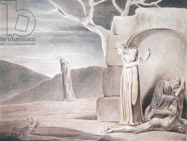 Famine William Blake (1757-1827/British)