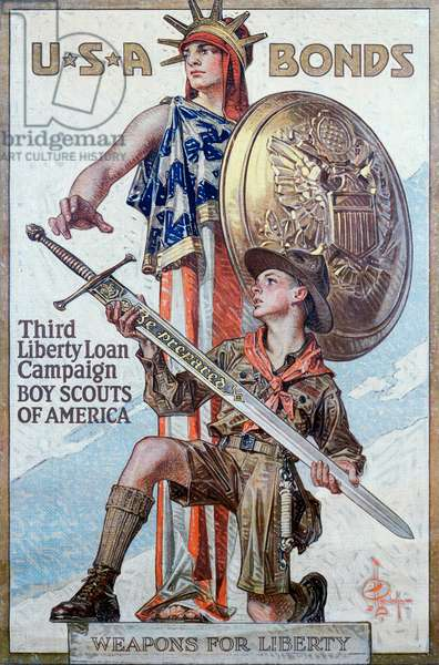 Weapons for Liberty C. 1918 Posters
