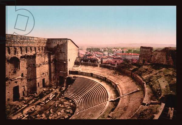 Roman Theater, Classic Photography