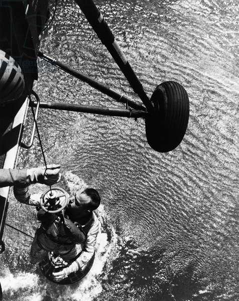 Astronaut Alan B. Shepard, Jr, Project Mercury Program, May 5, 1961