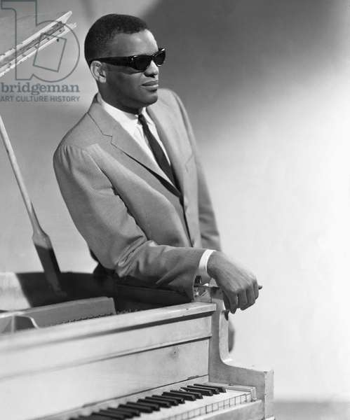Ray Charles, American Singer, Pianist and Composer, (1930-2004)