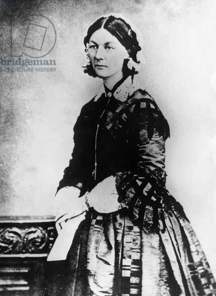 Florence Nightingale, (1820-1910) British Nurse