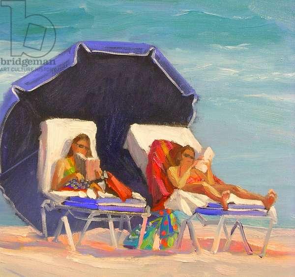Beach Bums 2006 (oil on canvas)