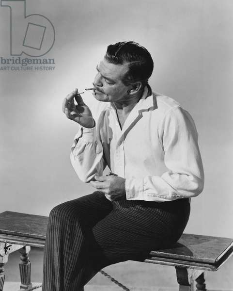 Clark Gable (b/w photo)