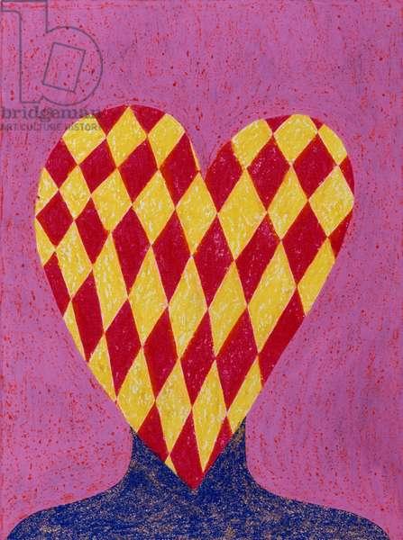 In Love 1996 Catherine Hazard (b.1954 American) Oil on canvas