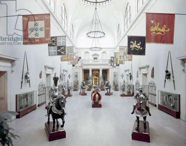 Medieval Armor Room, USA, New York State, New York City, Metropolitan Museum of Art