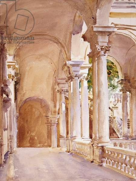 Genoa: The University John Singer Sargent (1856-1925 American)