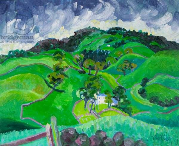 Rural landscape, by Josephine Trotter, born 1940
