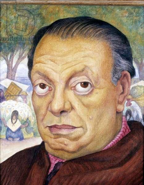 Self Portrait, 1949 (oil on canvas)
