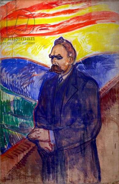 Friedrich Nietzsche, 1906 (oil on canvas)