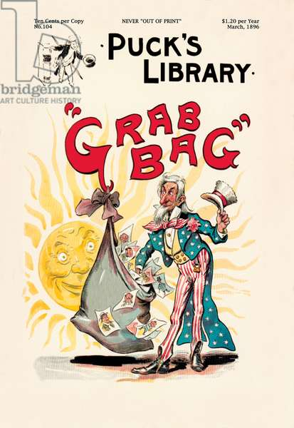 """Puck's Library: """"""""Grab Bag"""""""", Uncle Sam"""