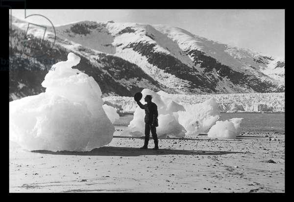 Taku Glacier in Skagway Alaska, Classic Photography