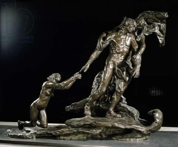 The age of maturity, sculpture c.1902 (bronze)