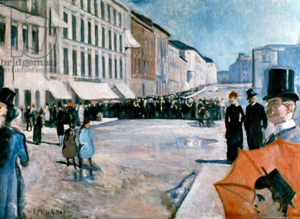 Music of the Street, 1899 (oil on canvas)