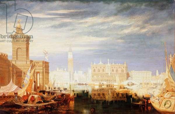 Venetian View Samuel Pritchett (1827-1907 British) Oil on canvas