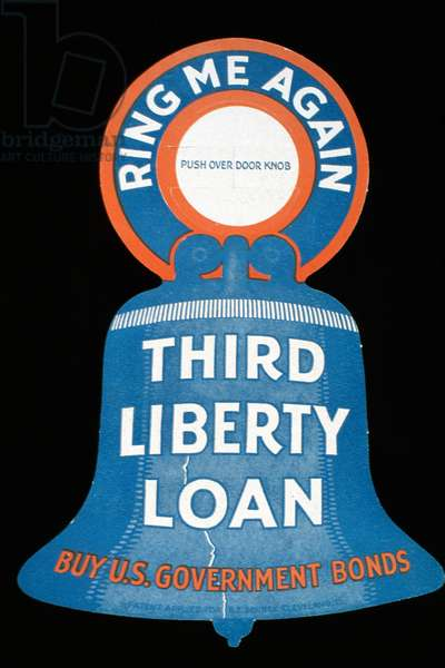 Third Liberty Loan-Buy U.S. Government Bonds Artist Unknown Poster (World War II)
