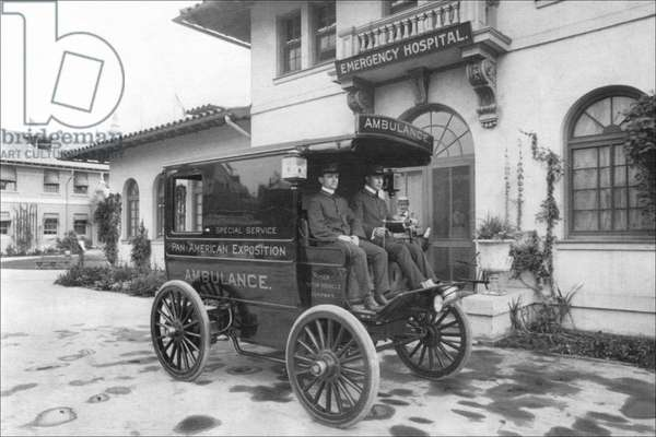 Pan-American Exposition Ambulance, Classic Photography