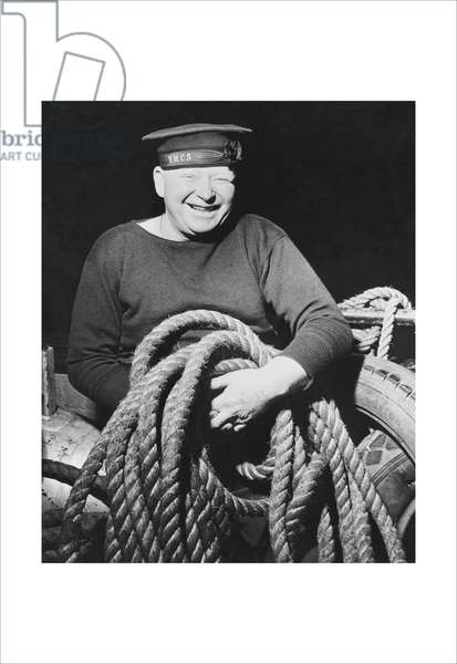 Canadian Sailor with a Line, Classic Photography