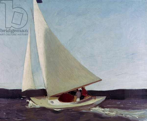 Sailing, 1911 (oil on canvas)