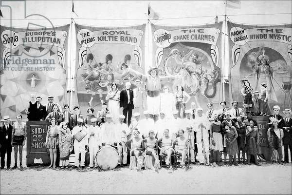 Sideshow Performers, Classic Photography