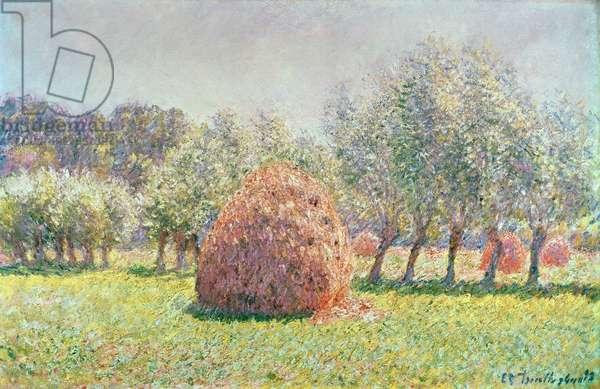 Haystacks, 1893 (oil on canvas)