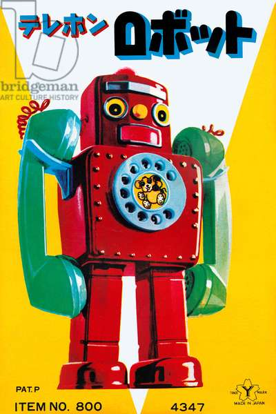 Telephone Robot, Robots, ray guns & rocket ships