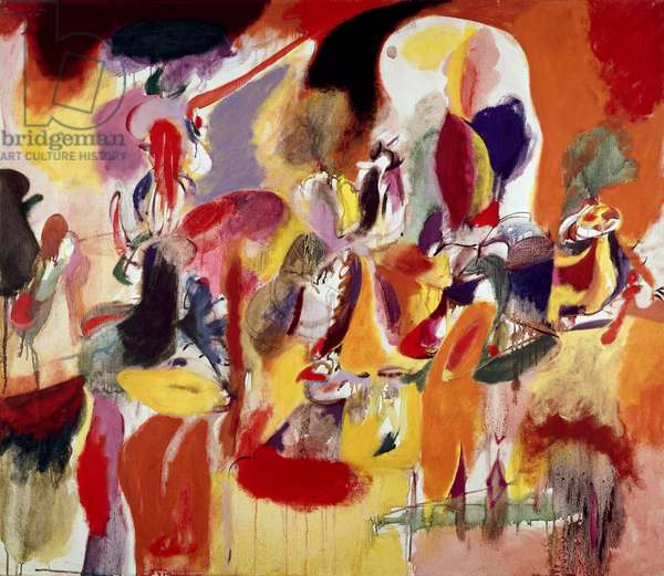 Water of the Flowery Mill by Arshile Gorky, 1944, 1904-1948