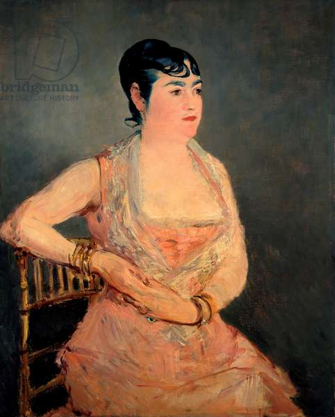 Lady in Pink, 1879-81 (oil on canvas)