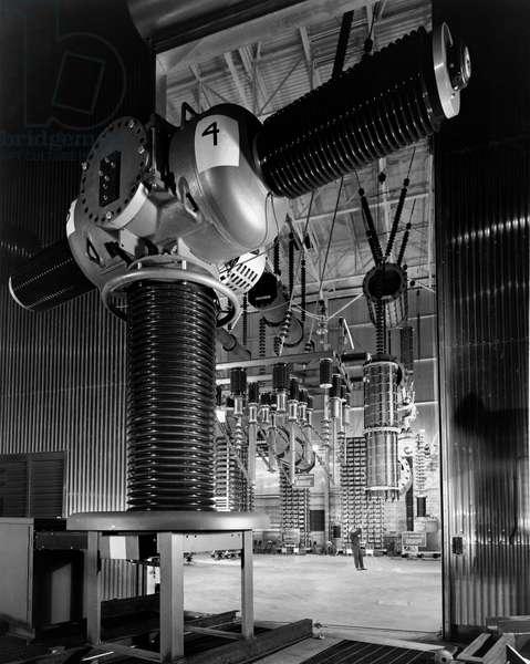 Interiors of a power station, General Electric, Philadelphia, Pennsylvania, USA