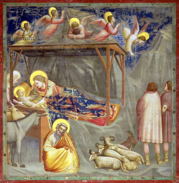 The Nativity, c.1305 (fresco) (for detail see 65207)