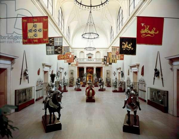 USA, New York State, New York City, Metropolitan Museum of Art, Hall of Armour