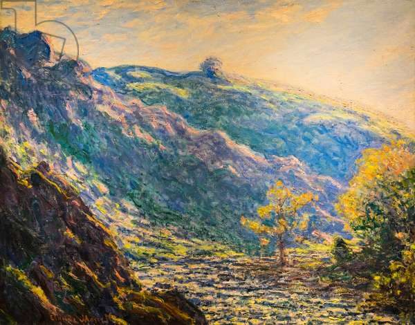 Ravine of the Petit Creuse, 1889 (oil on canvas)