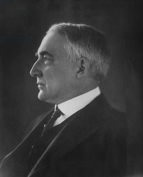 Warren Harding, (1865-1923), 29th President of the United States