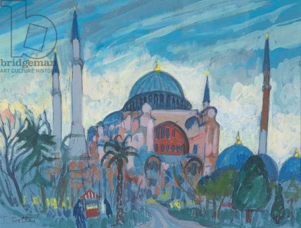 Mosque by Josephine Trotter, born 1940