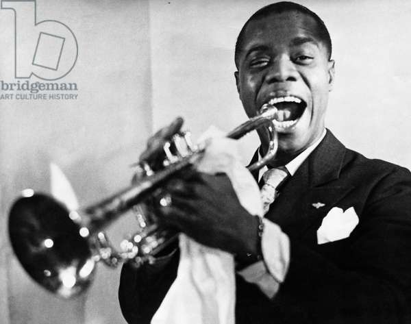 Louis Armstrong, American Jazz Trumpeter, (1900-1971)
