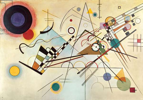 Composition Number 8, 1923 (oil on canvas)