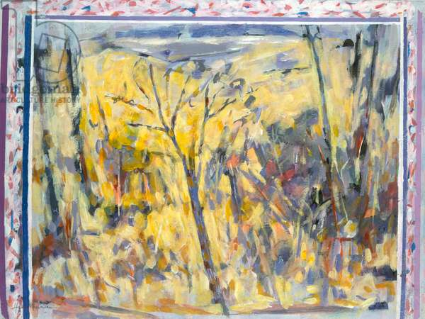 Landscape from Gazebo by Hamish MacEwan, 1984