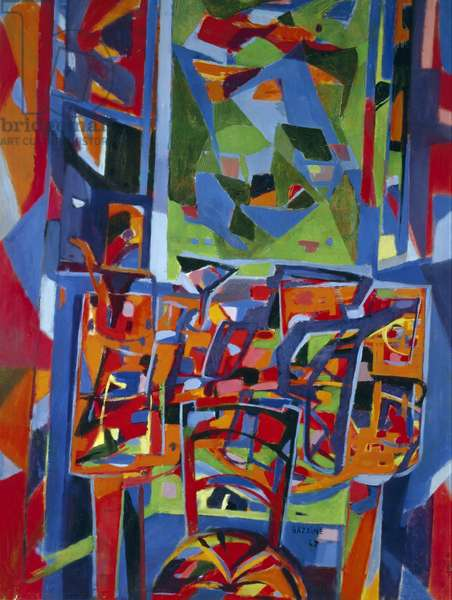 Composition in Red, 1942, (painting)