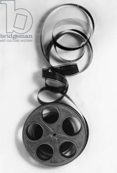 Close-up of a film reel