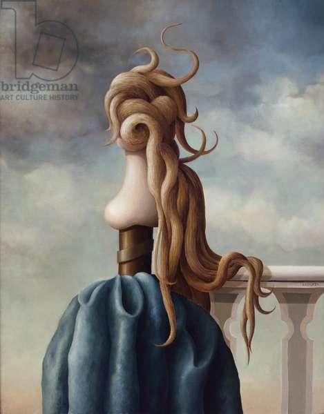 Ophelia Juan Carlos Liberti (b.1930 Argentinean) Zurbaran Galeria, Buenos Aires, Argentina