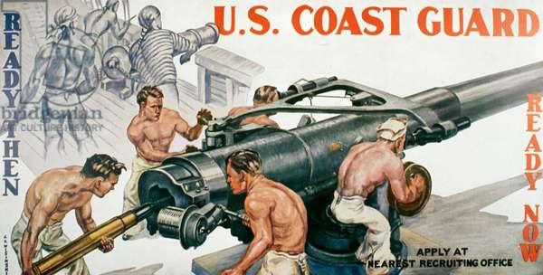 U.S. Coast Guard Artist Unknown Poster (World War II)