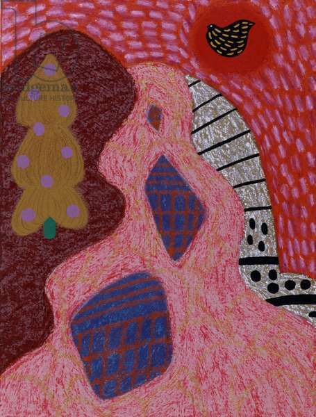 Mountain Dawn 1996 Catherine Hazard (b.1954 American) Oil on canvas