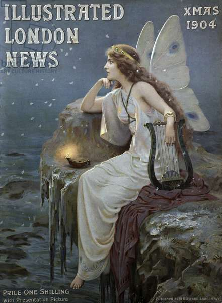Front Cover of the 'Illustrated London News', 1904 (colour litho)