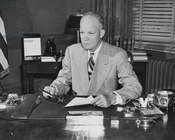 Dwight D. Eisenhower, (1890-1969), 34th President of the United States