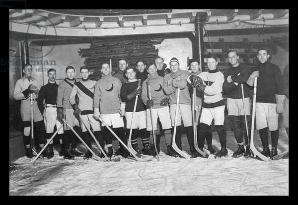 Crescent Hockey Team, Classic Photography