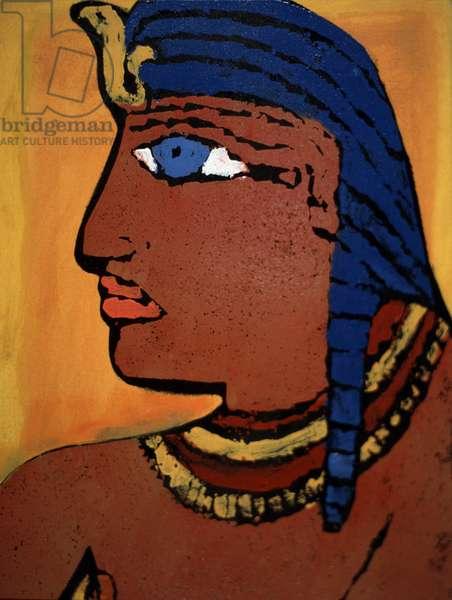 Pharaoh Leslie Xuereb (b.1959 French)