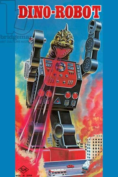 Dino-Robot, Robots, ray guns & rocket ships