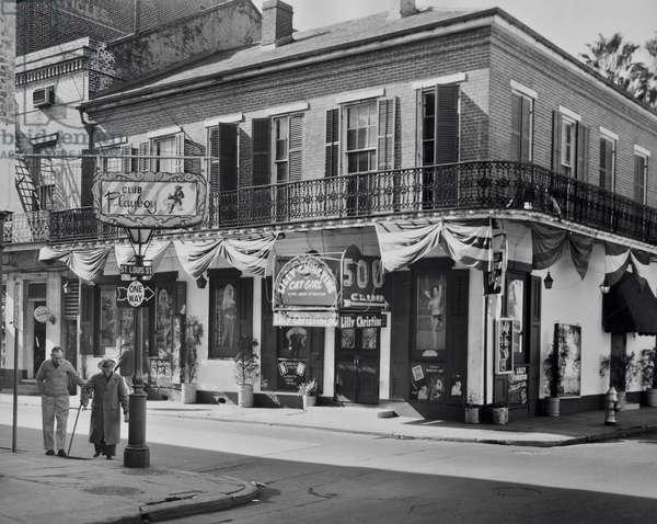 Bourbon Street New Orleans Louisiana USA