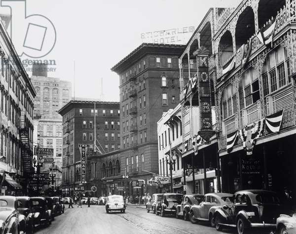 USA, Louisiana, New Orleans, street scene